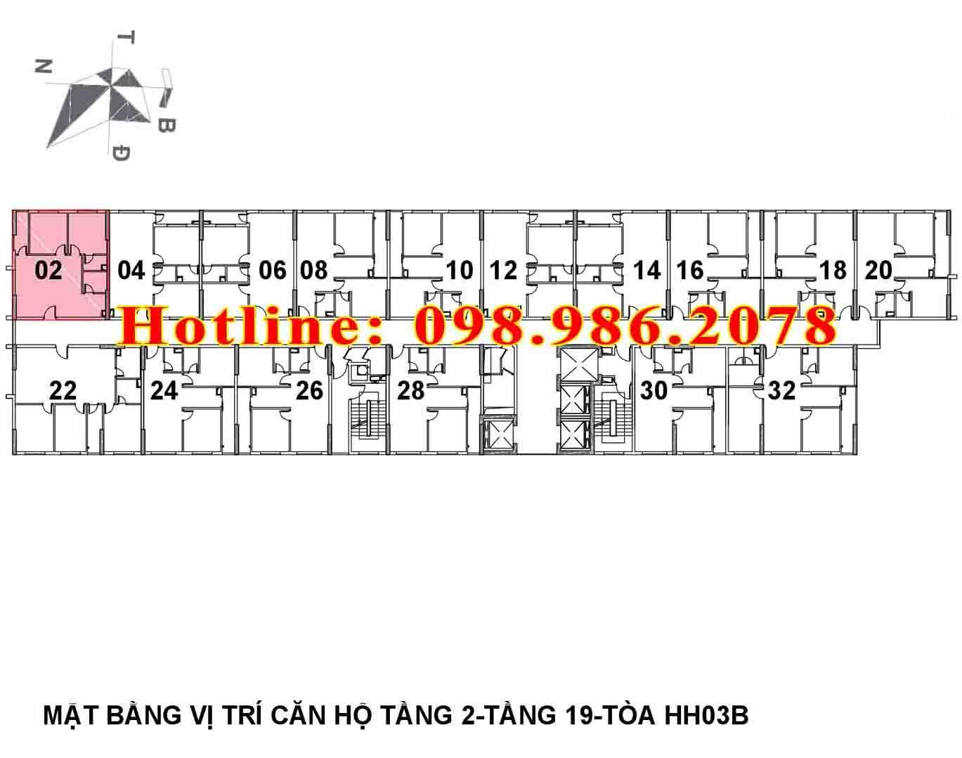 mat bang chung cu b1.3 hh03b thanh ha